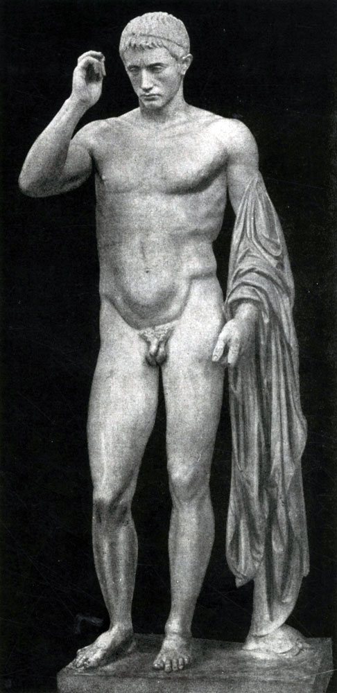 268. Статуя Германика. Мрамор. Конец 1 в. до н. э. Париж. Лувр.