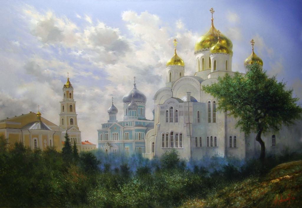 снялась облегающем картины художников монастырь фото так, как