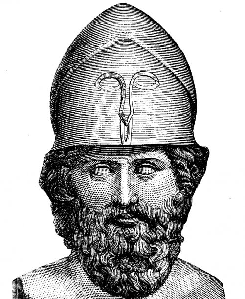 Биография Фемистокла. Создатель регулярного флота в Греции