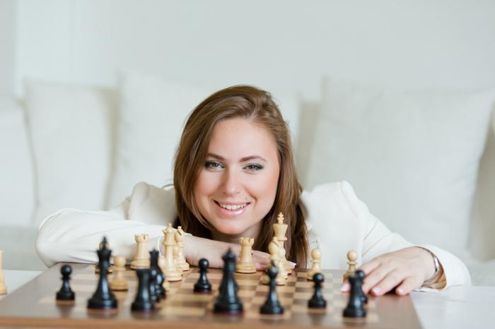 Гениальная шахматистка.